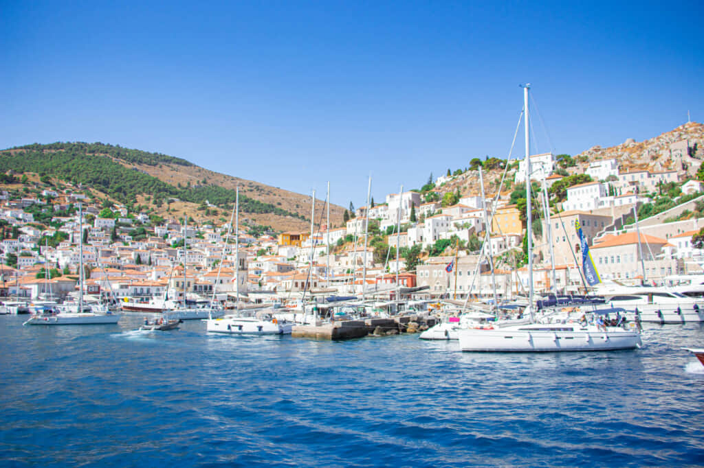 地中海イドラ島